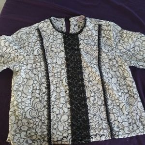 Used once Nanette Lepore blouse, Size XS
